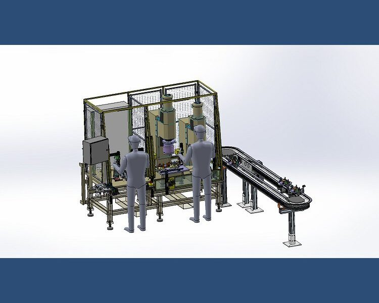 Dual Station Assembly Machine
