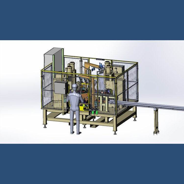 8-Station Dial Assembly Machine