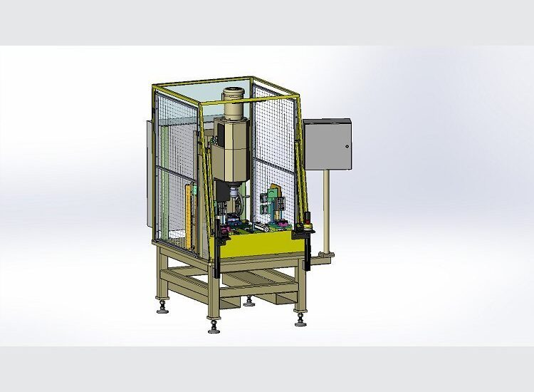 Single Station Assembly Machine