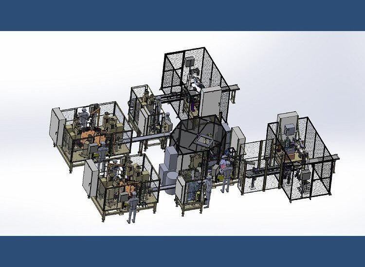 Dual Part Assembly Cell